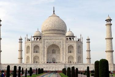 Taj Mahal - The Marble Wonder