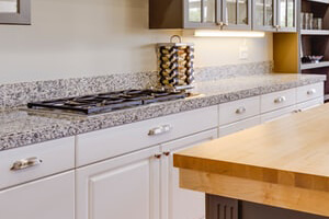 White Granite Kitchen Countertops For A Clean & Elegant Look