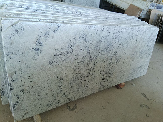 Colonial White Granite Textures