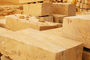 Natural Stone Blocks For Creating Bookmatched Slabs