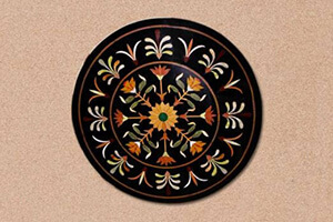 Circular Inlay Table Top