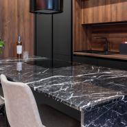 Spider Green Marble Kitchen Countertop