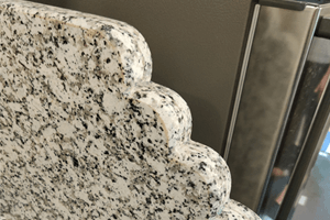 Safe Edges Cut By Quality Marble Exports - Platinum White Granite