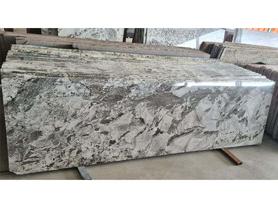 Azul White Granite Slabs