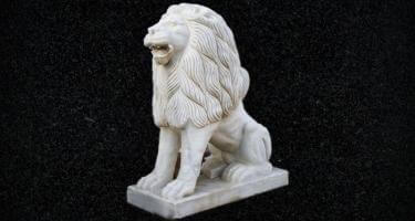 White Tiger Sculpture