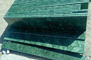 Forest Green Marble Slabs at Quality Marble Exports