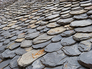Energy Efficient and Fire-proof Slate Tiles For Roof