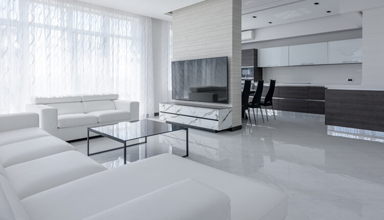 How To Mix & Match Granite, Slate And Marble Tiles?
