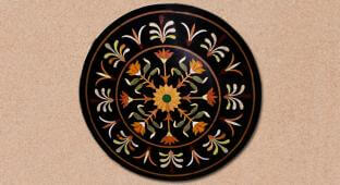 Circular Inlay Tabletop
