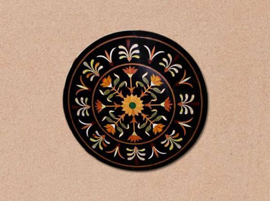 Circular Inlay Tabletop