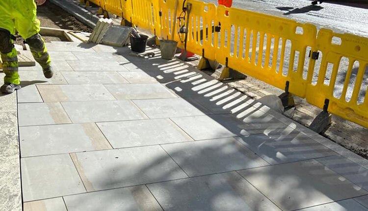How We Replaced The Yorkstone in London?