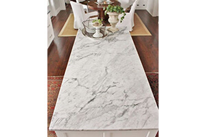 Sealed Marble Countertop For Busy Kitchen Areas