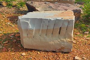 Desert Camel Quartzite Block Depicting The Stone's Appearance