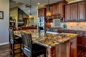 Desert Brown Granite Kitchen Countertops