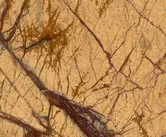 Rain Forest Yellow Marble