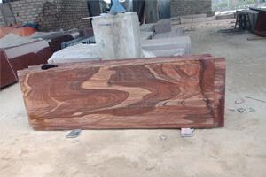 Red Teakwood Sandstone For Building & Home Decor