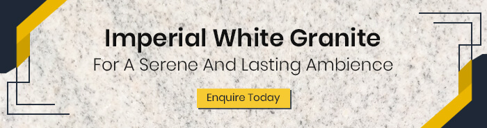 Imperial White Granite In Different Finishes