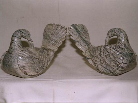 Rain Forest Brown Decorative Birds