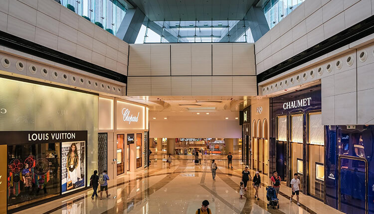 Applications of Natural Stones In Shopping Centres