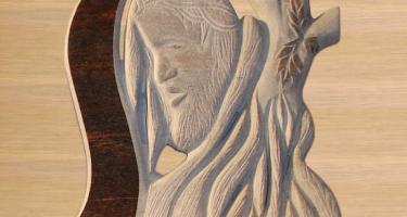 Jesus Carved Monument