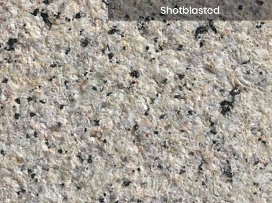 Crystal Yellow Granite Shotblasted