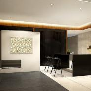 Sophisticated Black Granite And Marble Interiors Reflecting A Visual Contrast