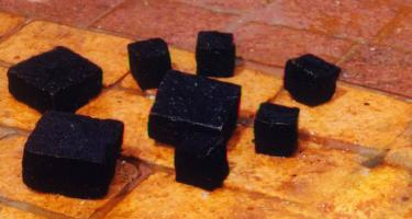 Natural Black Cobblestone