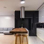 Effect Of Lighting In Black & White Interiors