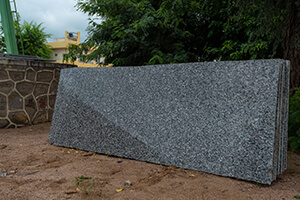 Crystal Blue Granite For Stunning Wall
