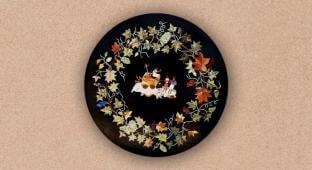 Decorative Round Tabletop