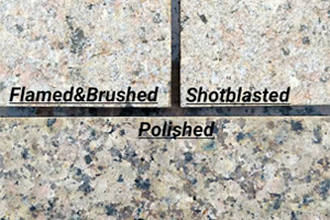 Types Of Finishes For Cream Granite