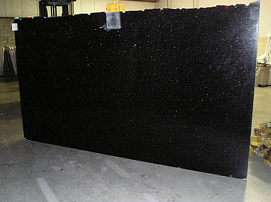 Black Galaxy Granite Available In Slabs