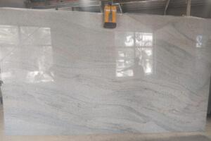 Polished White Granite Slab For Vibrant Interiors
