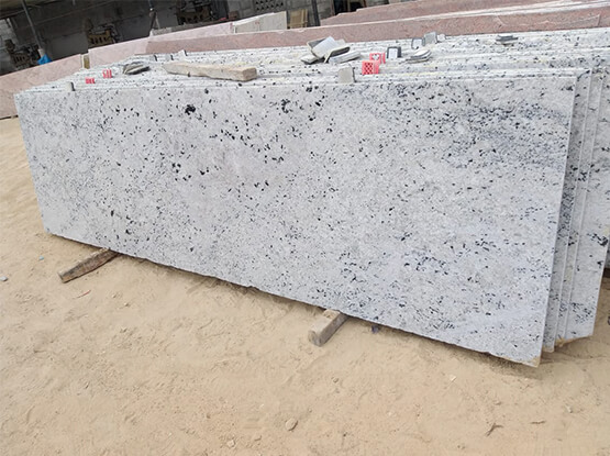Colonial White Granite Slabs