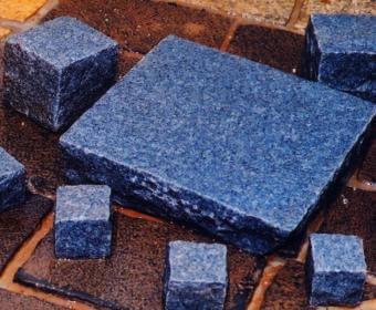 Natural Blue Cobblestone