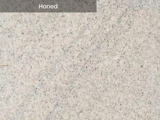 Imperial White Granite Honed Finish