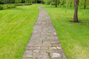 Cobblestone Pathway for Optimum Acupressure of The Body