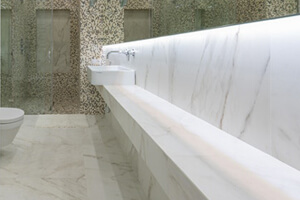 Stylish And Trendy White Marble Flooring