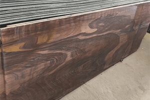 Red Teakwood Sandstone Slabs at Quality Marble Exports