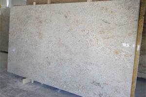 Luxurious Ivory Fantasy Granite Floor Tiles