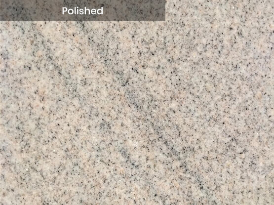 Imperial White Granite Polished Finish
