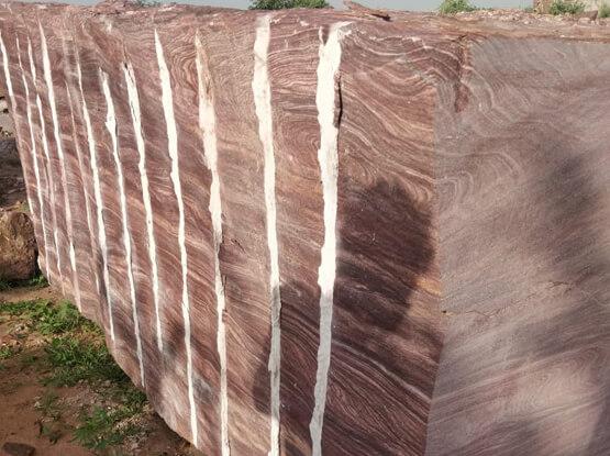 Red Teakwood Sandstone