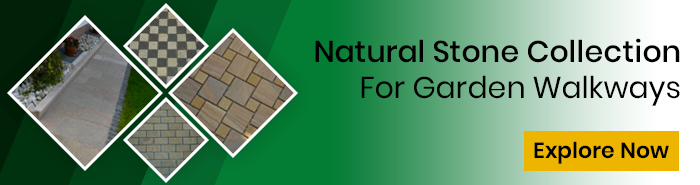 Natural Stone Collection for Garden Walkways