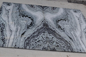 Mercury Grey Marble For Exotic Bookmatched Designs