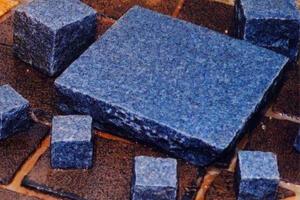 Natural Blue Cobblestones For Indoors