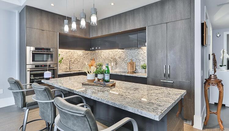 Imperial White Granite & Platinum White Granite Combination For an Elegant Space