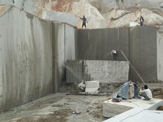 Cherry Brown Granite Quarry