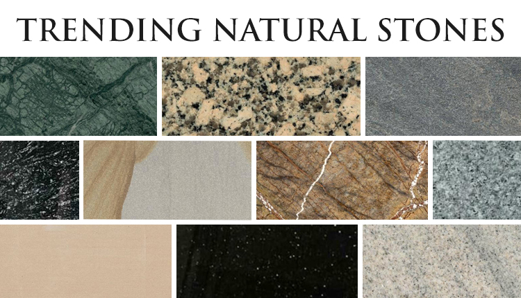 Top 10 Latest Trends In Natural Stones