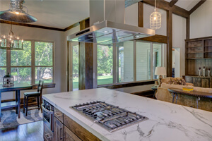 Granite Kitchen Countertop To Sustain Cracks And Dents