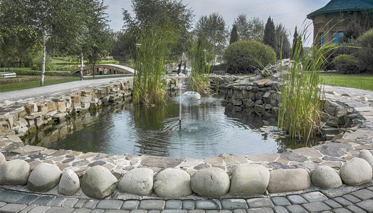 Cobblestones For Outdoor Fish Ponds